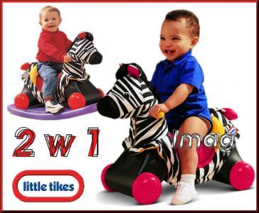 Little Tikes Zebra Na Biegunach Bujak Jezdzik W24h 3183036238 Oficjalne Archiwum Allegro