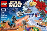 LEGO STAR WARS Kalendarz Adwentowy 2017 75184
