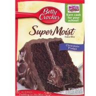 BETTY CROCKER ciasto w proszku Chocolate Fudge