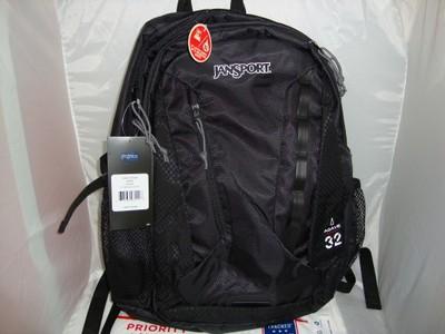 JanSport Agave Plecak tornister szkolny czarny USA
