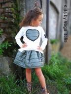 VOGA ITALIA Komplet spódnica bluzka 134 -140
