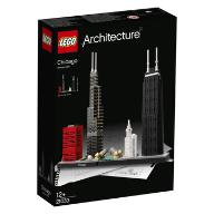 KLOCKI LEGO ARCHITECTURE CHICAGO
