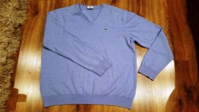 Sweterek, bluza Lacoste niebieski, rozm. L/XL Łódź