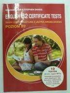 English B2 Certificate tests z płytą CD
