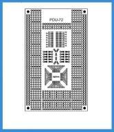 Płytka Drukowana Lutownicza PDU-72 Atmega SMD+THT