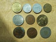 Zestaw monet NEPAL 10 sztuk NUMIZMATYKA