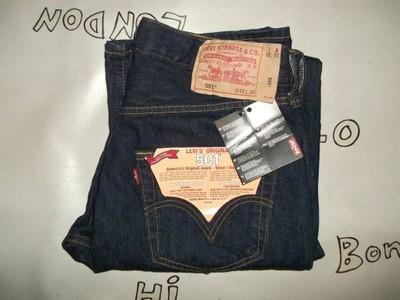 081f40ab6 Spodnie męskie Levis 501 Straight W32 L32 - 6627292427 - oficjalne ...