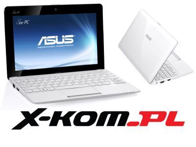 BIAŁY ASUS Eee PC 1015BX C 60 1G 320GB 1kg Windows