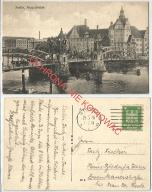 Szczecin Hansabrucke, most, obieg 1926