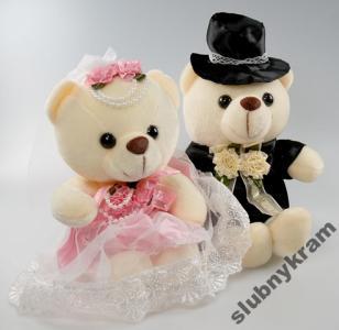 10720fd8337731 DEKORACJA MISIE para młoda ślub wesele - 4299944669 - oficjalne ...