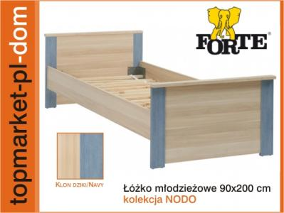 łóżko Młodzieżowe Nodl01 Nodo 90x200 Forte W Wa 5991335757