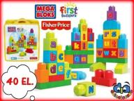 MEGA BLOKS DKX58 Ćwiczymy ABC! FISHER PRICE