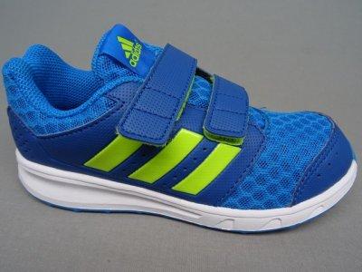 Buty dziecięce adidas LK Sport 2 CF K AQ4823 niebieski