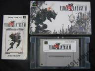 FINAL FANTASY VI   JAP SNES (SUPER FAMICOM) SKLEP