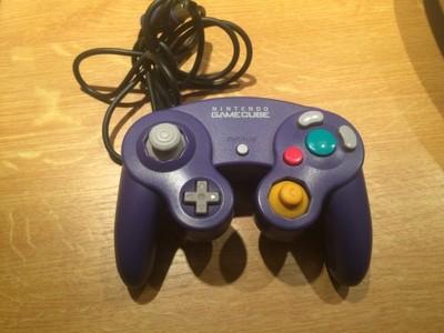 Oryginalny kontroler pad Nintendo GameCube Bdb