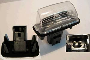 Lampka Tablicy Peugeot 206 207 306 307 Oryginał 5987007875