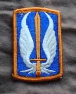 naszywka USA U.S Army 17th Aviation Brigade Class