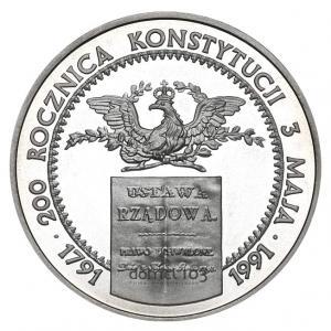 1777. 200.000 zł 1991, Konstytucja 3 Maja, st.L-