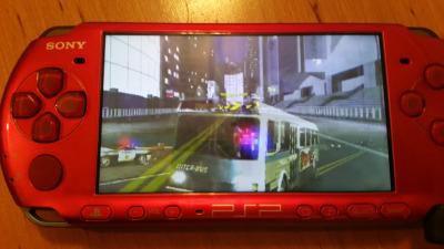 Konsola Sony PSP plus 3 gry