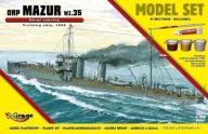 """Okręt Szkolny ORP """"MAZUR"""""""