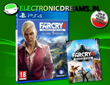 Far Cry 4 Edycja Kompletna Pl Ps4 Complete Edition 5565364107