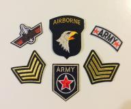 2017 naszywki APLIKACJE MILITARNE TOPGUN ARMY air