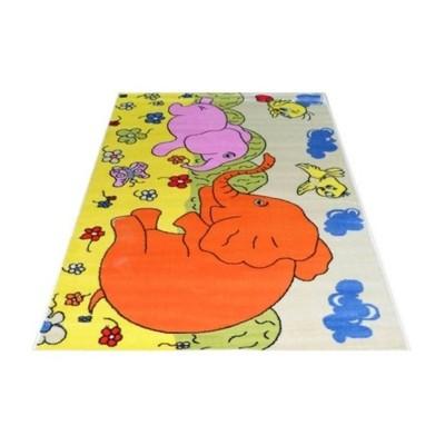 Tani dywan dziecięcy 200x300 02 kremowy