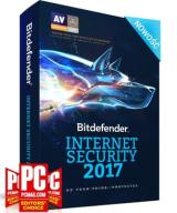 Bitdefender Internet Security 2017 - 3PC/1ROK/Kont
