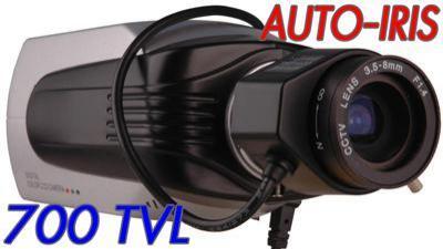 Kamera CCD 700 TVL Sony EFFIO 3,5-8 auto irys MENU