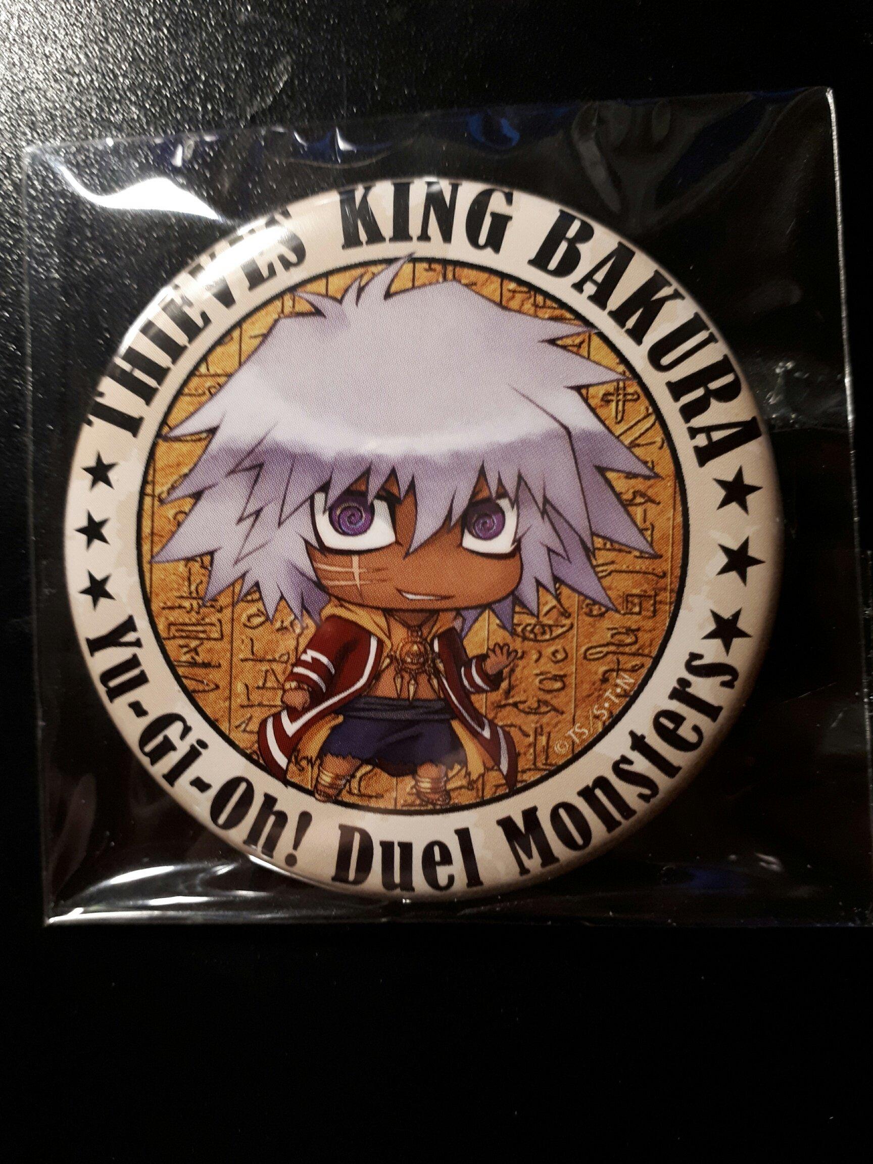 Yu-Gi-Oh! przypinki - Thieves King Bakura