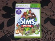 The Sims 3: Pets Stan bardzo dobry X-Box 360