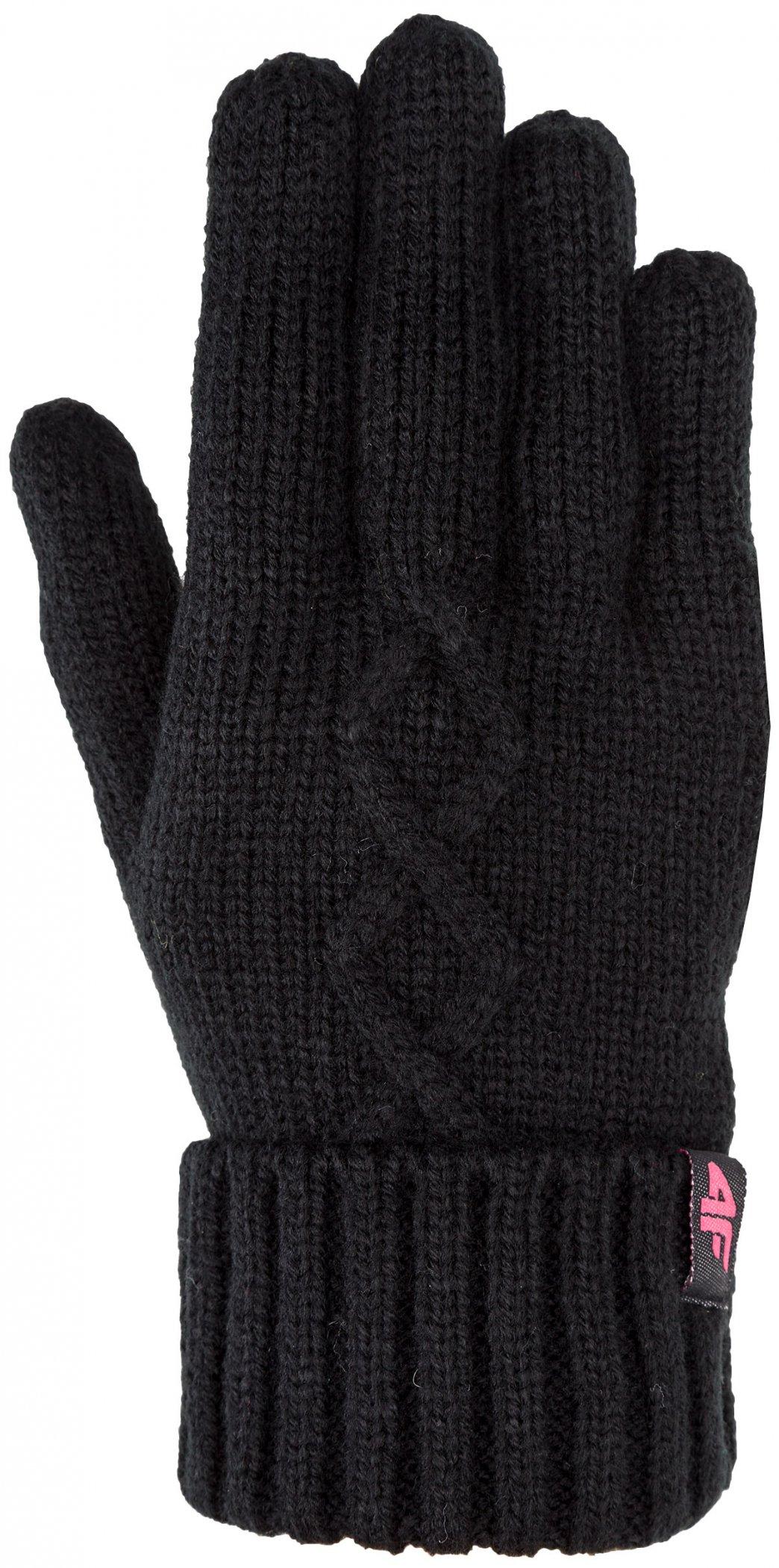 Rękawiczki zimowe 4F na zimę RĘKAWICE damskie L/XL