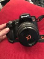 Sony DSLR-A450 alfa450 lustrzanka
