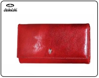 80bde6f349435 Portfel damski skórzany PUCCINI H-1942, czerwony - 6237690980 ...