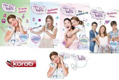 Violetta Komplet 4 Ksiazek Pakiet Nowosc 2013 3737708051 Oficjalne Archiwum Allegro