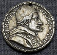 INNOCENTY XI - 1680 - BARDZO RZADKI - SREBRO
