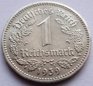 1 Reichsmark 1939 A stan! (Xh54)