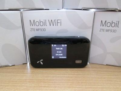 Mobilny Router wifi LTE ZTE mf93d 3g
