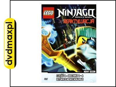Lego Ninjago Reaktywacja Część 1 Odcinki 1 4 Dvd 5380815658
