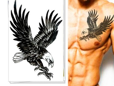 Tatuaż Zmywalny Orzeł Tatoo Tatuaże Patriota 6984114095