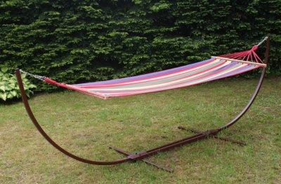 STELAŻ HAMAKA ogrodowego hamak stojak