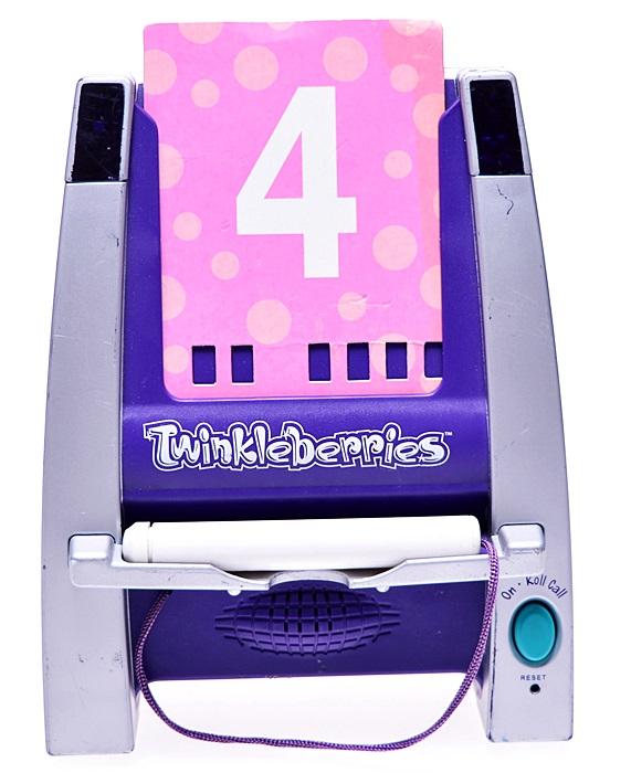 6254-96 ...RADICA... n#d TWINKLEBERRIES TABLICA