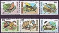Togo 2955-2960**, 1999 r., Ptaki, 6,50E!