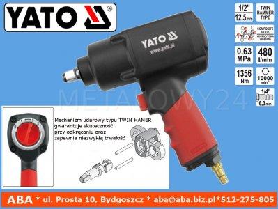 YT-0953 Klucz udarowy pneumatyczny 1356 Nm YATO