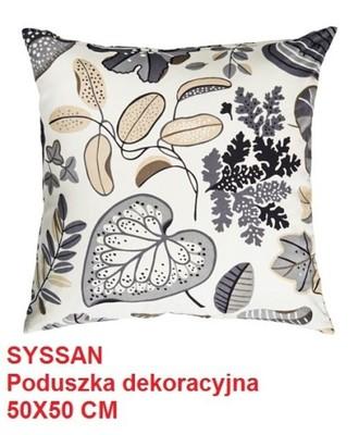 Ikea Syssan Poduszka Dekoracyjna Pierze 50x50 6521715299