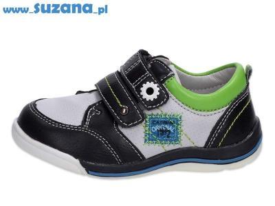 -30% Półbuty buty dziecięce BADOXX 6829 GR/BK r24