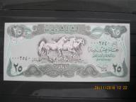 90. Banknot Irak 25 dinarów  UNC