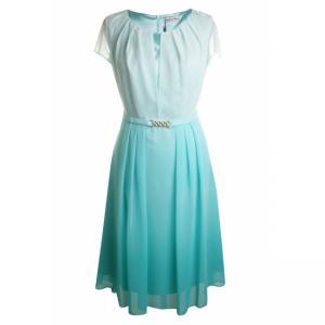 76c8bf2022 Sukienka Modern Line Lucjana lazurowa nimfa - 46 - 5986575541 ...