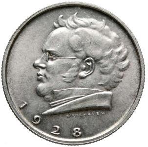 1051. Austria, 2 szylingi 1928  Franciszek Szubert