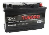AKUMULATOR TUBORG BLACKCALCIUM 92AH 850A P+
